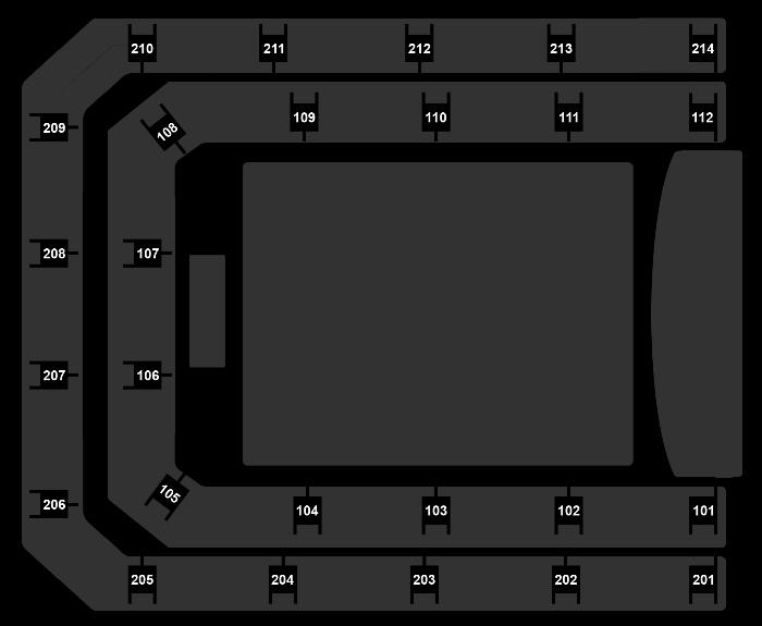 Seating Plan Backstreet Boys