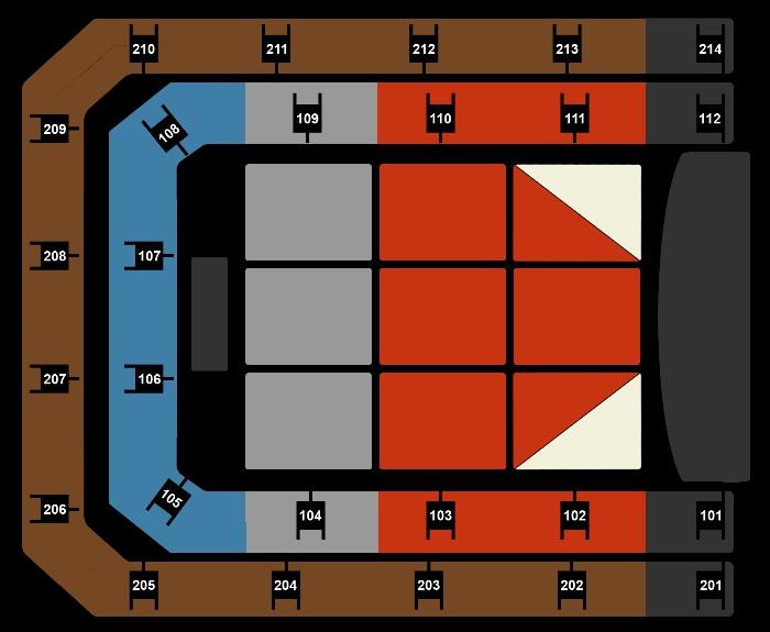 Seating Plan Hugh Jackman