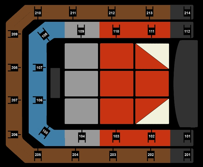 Seating Plan Hugh Jackman