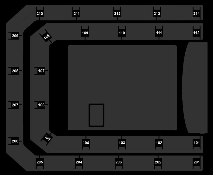 Seating Plan Céline Dion