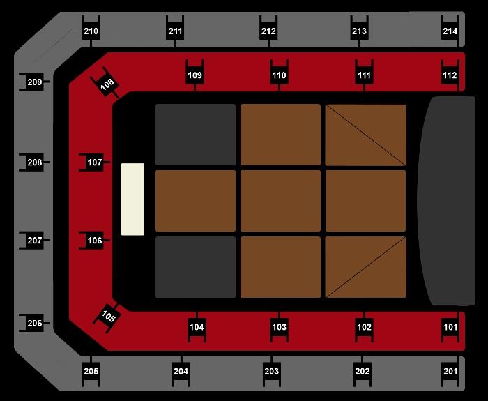 Seating Plan De Lama's