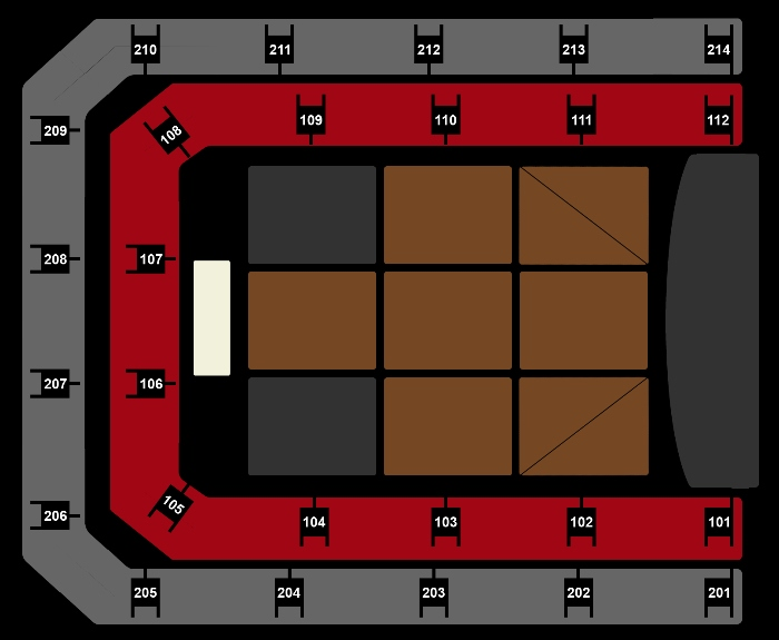 Seating Plan De Lama's
