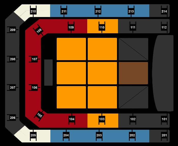 Seating Plan Jim Jefferies