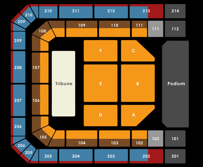 Seating Plan GABBERS - matinee