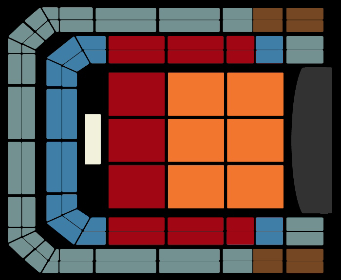 Seating Plan Adele